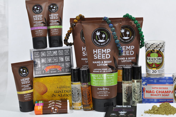 Hemp Products Lotions and Oils